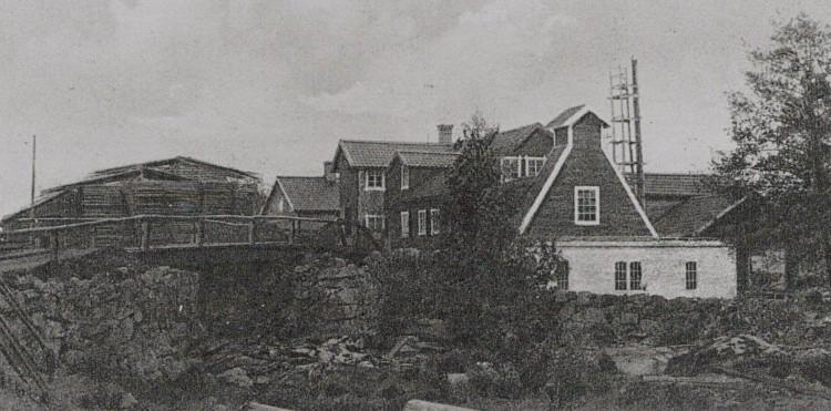 Sevalla Kraftstation 1918